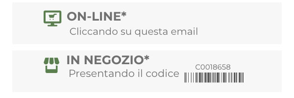 Online e in negozio