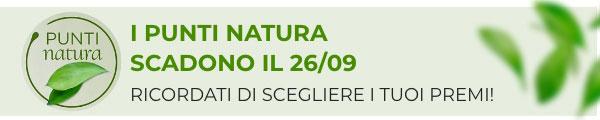 Scadono i punti Natura il 26/09