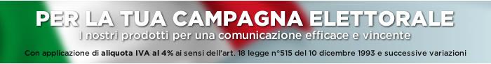 Offerta Campagna Elettorale