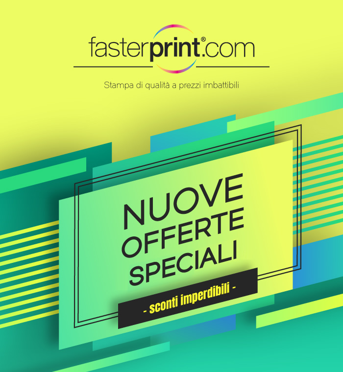 FasterPrint Nuove offerte speciali