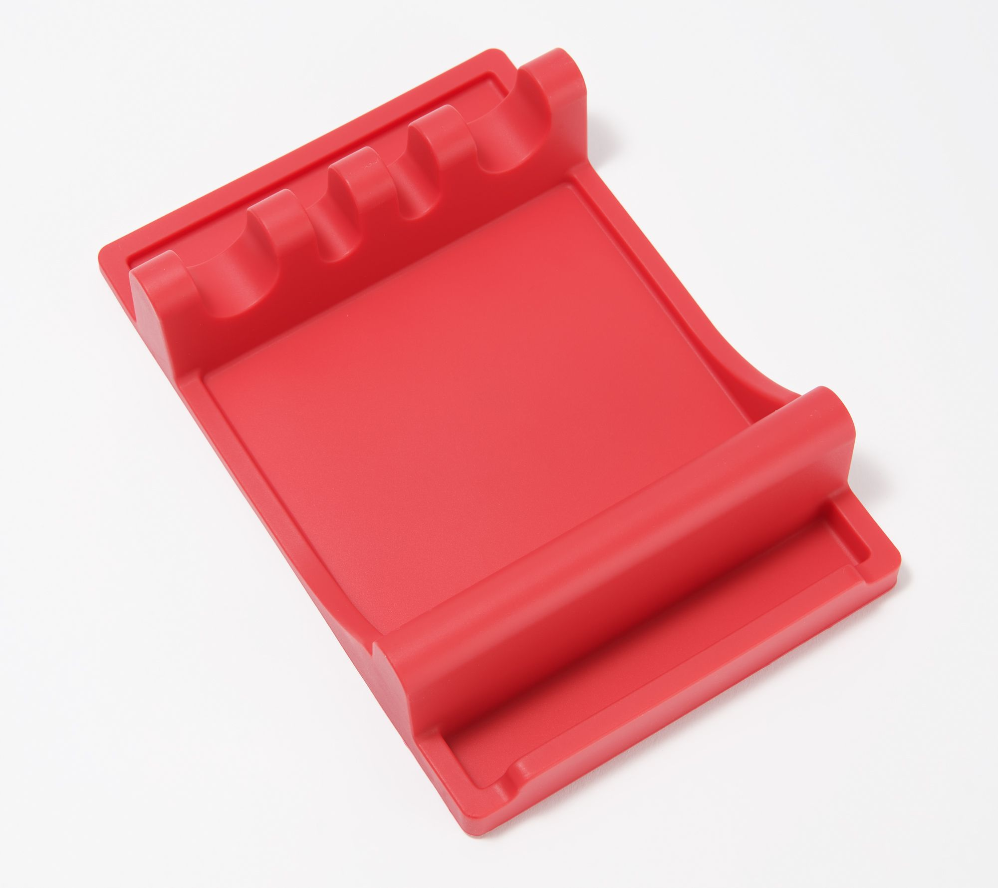Silicone Utensil Rest with Lid Holder