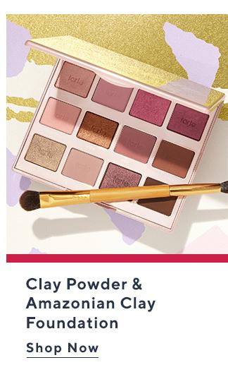 Clay Powder & Amazonian Clay Foundation