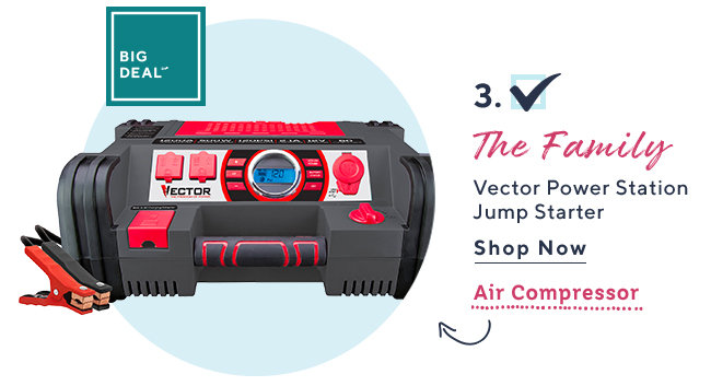 Big Deal?* The Family Vector Power Station Jump Starter Shop Now