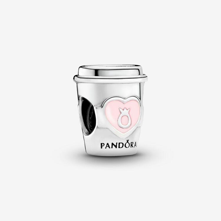 Pandora Take A Break Coffee Cup Charm