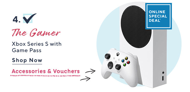 Online Special Deal* The Gamer Xbox Series S with Game Pass Shop Now