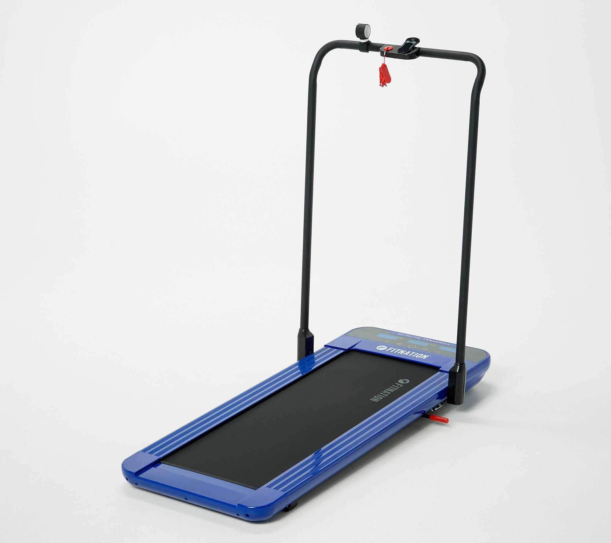 FITNATION Slimline Pro Walking Treadmill with App