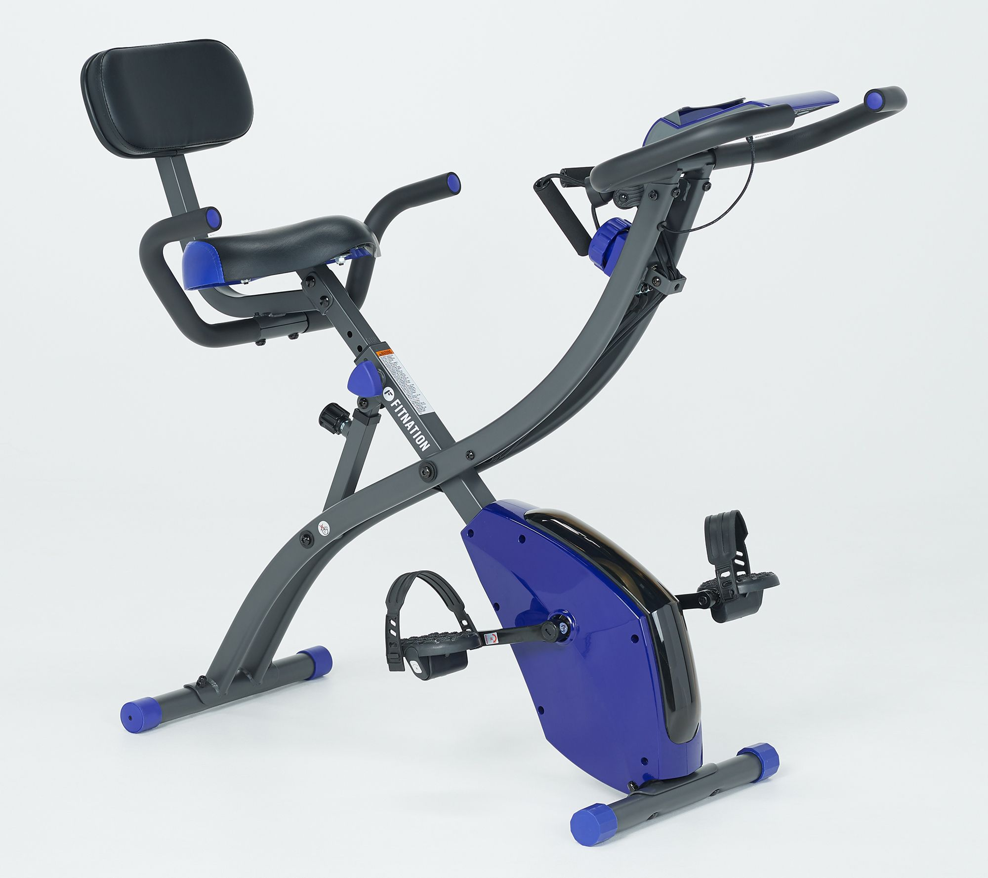 FITNATION Upright & Recumbent Flex Bike Express w/ Echelon App