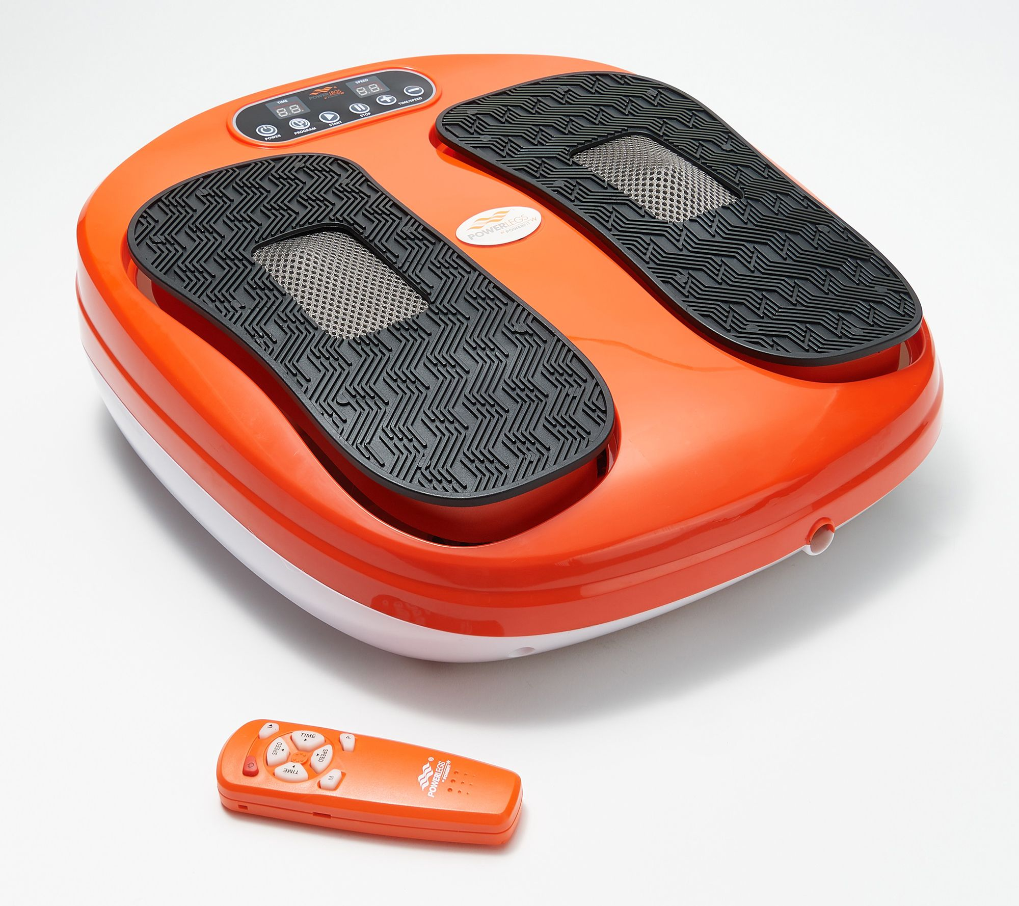 Power Legs Vibrating Foot Massager Platform w/ Acupressure