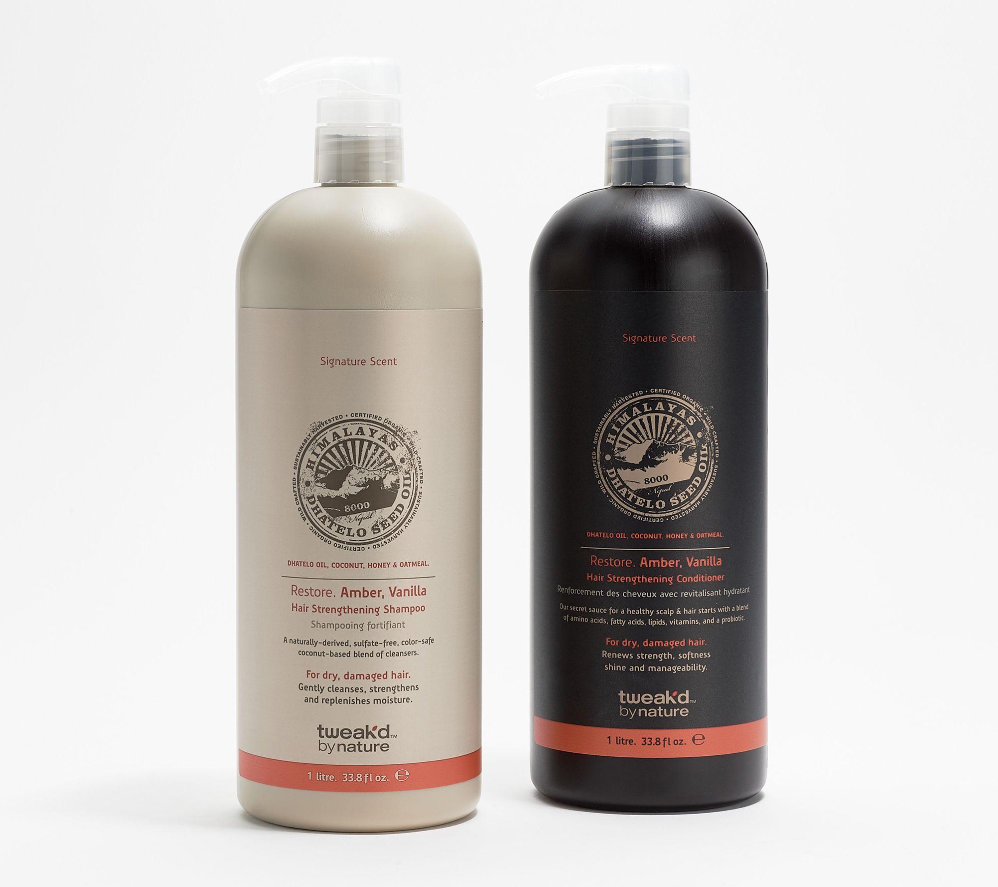Tweak'd by Nature Super- Size Restore Shampoo & Conditioner