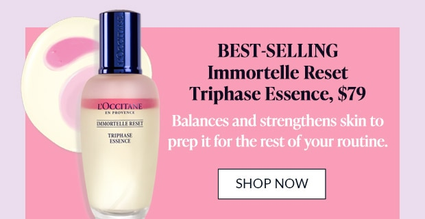 IMMORTELLE RESET TRI-PHASE ESSENCE. SHOP NOW