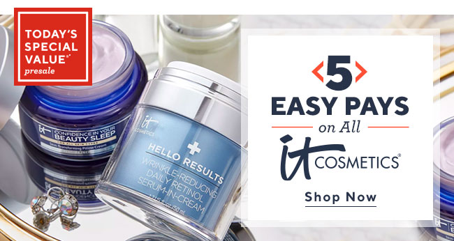 5 Easy Pays on IT Cosmetics