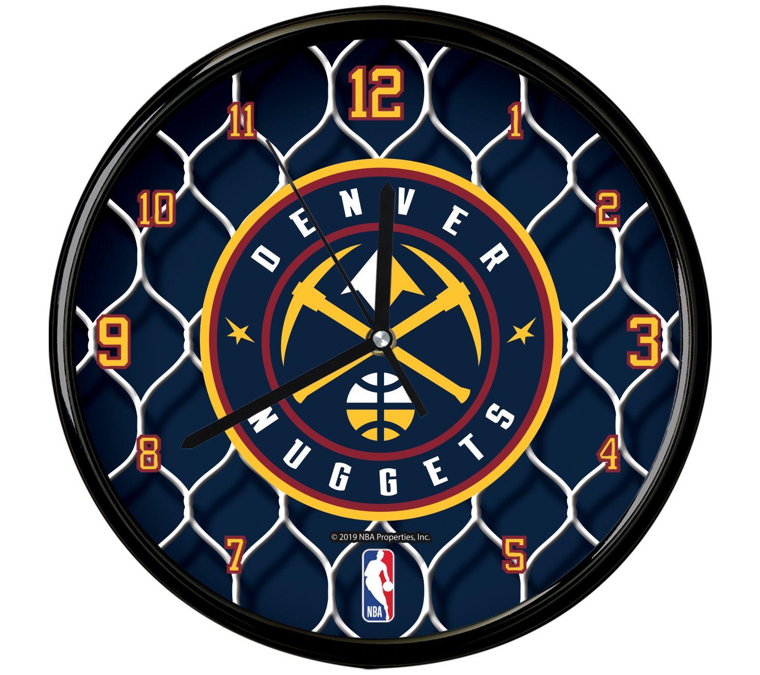 "The Memory Company NBA 12"" Team Net Clock"