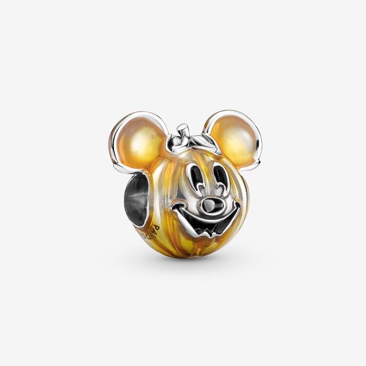 Pandora Disney Mickey Mouse Pumpkin Charm