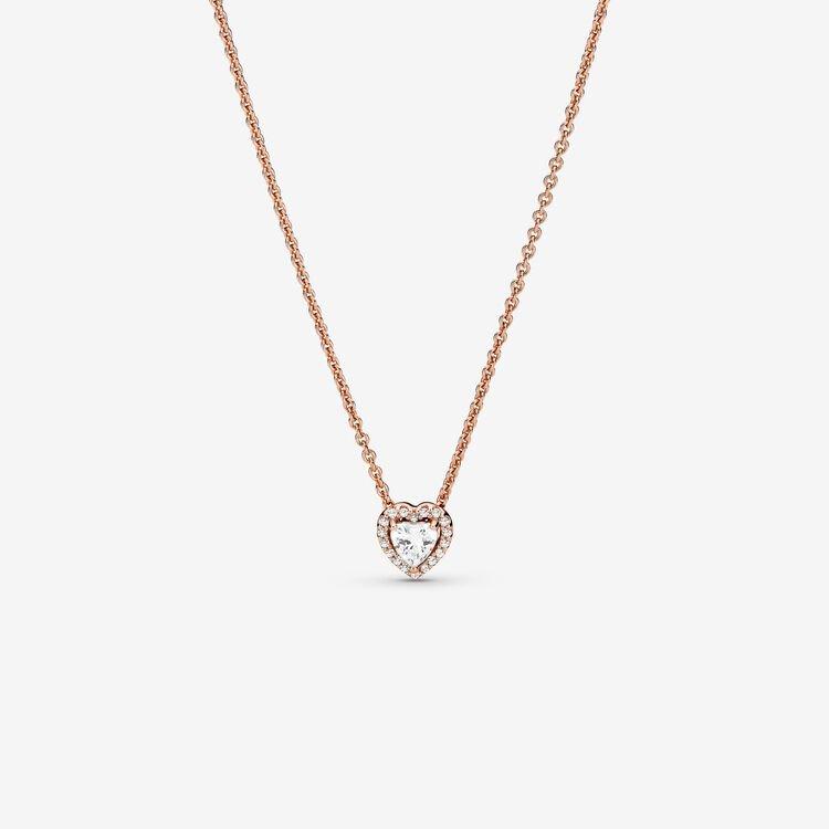 Pandora Sparkling Heart Collier Necklace