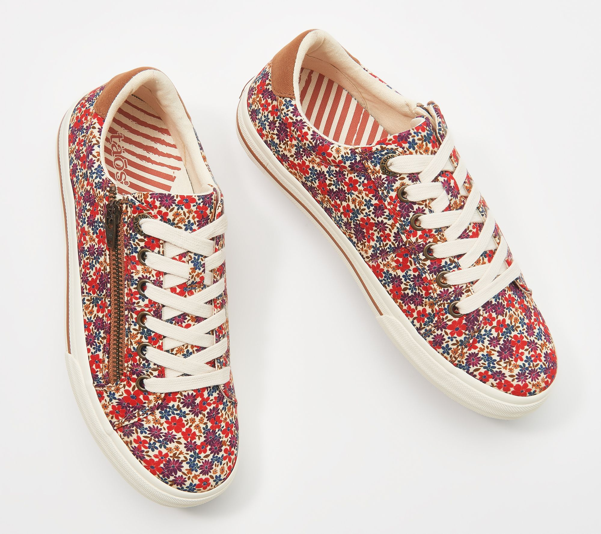 Taos Canvas Side-Zip Lace-Up Sneaker - Z Soul
