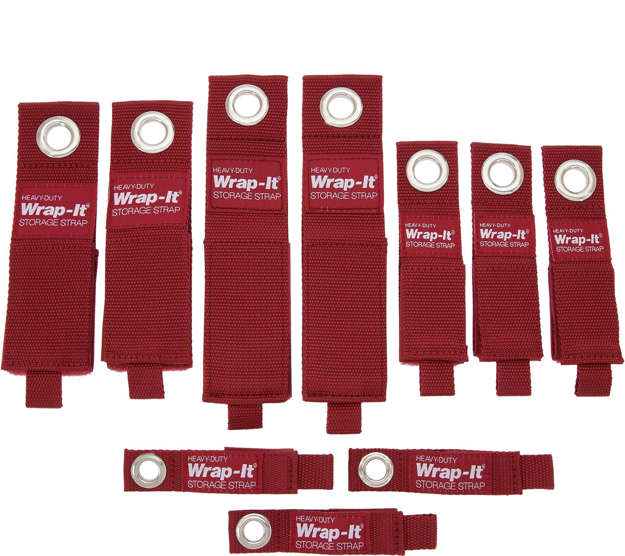 Wrap-It 10-Piece Heavy Duty Storage Straps