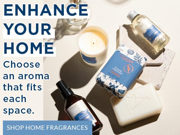 ENHANCE YOUR HOME. SHOP HOME FRAGRANCES