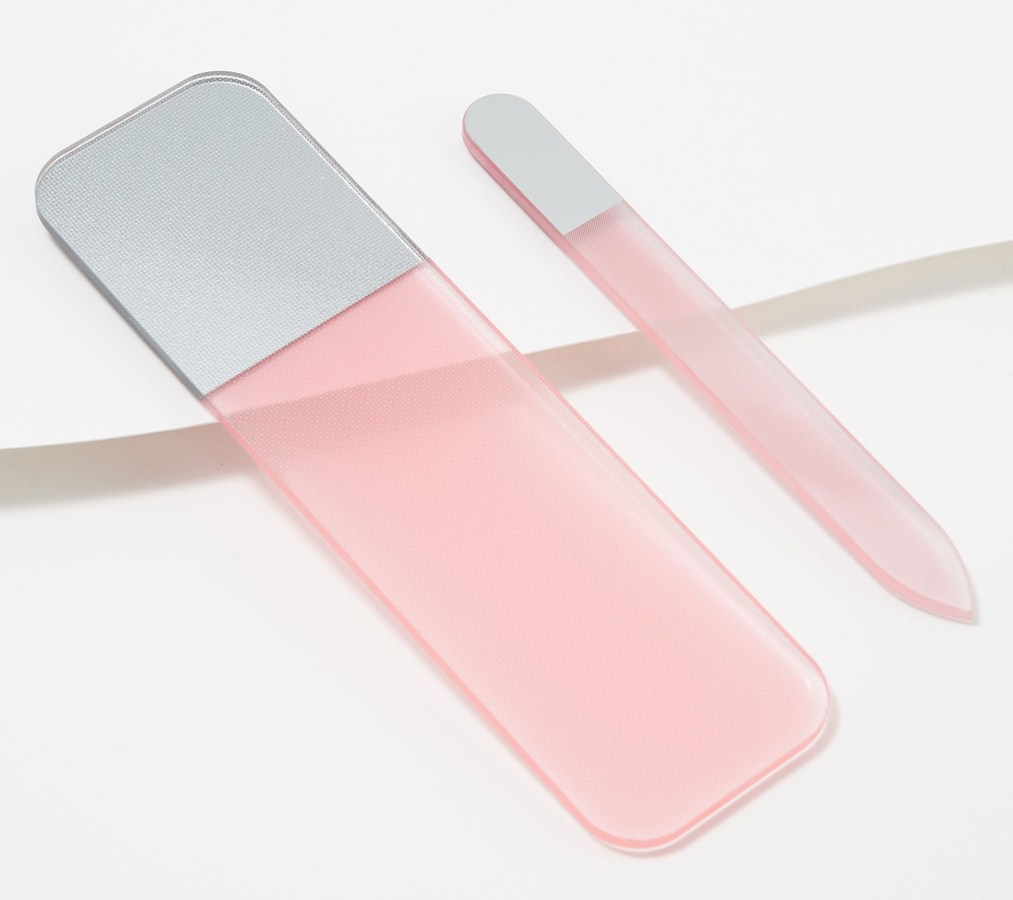 Spa-Rific Laser Etched Hardened Glass Mani-Pedi Set