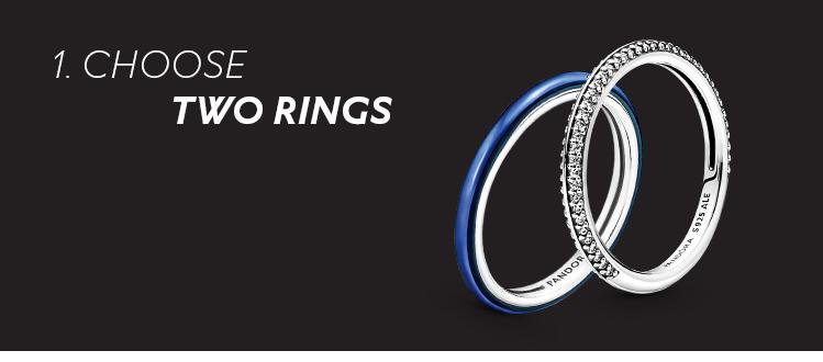 Choose two rings