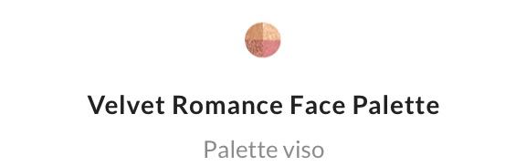 Velvet Romance Face palette
