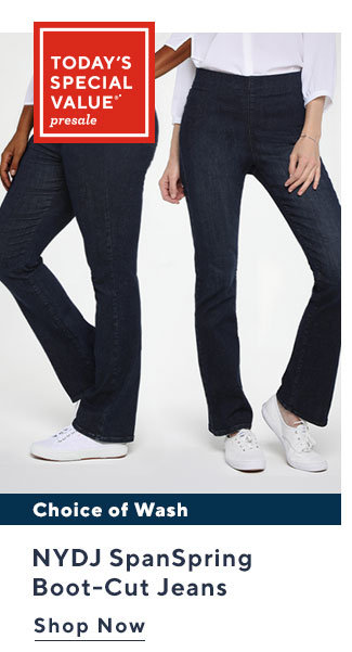 Today's Special Value®* Presale NYDJ SpanSpring Boot-Cut Jeans Shop Now