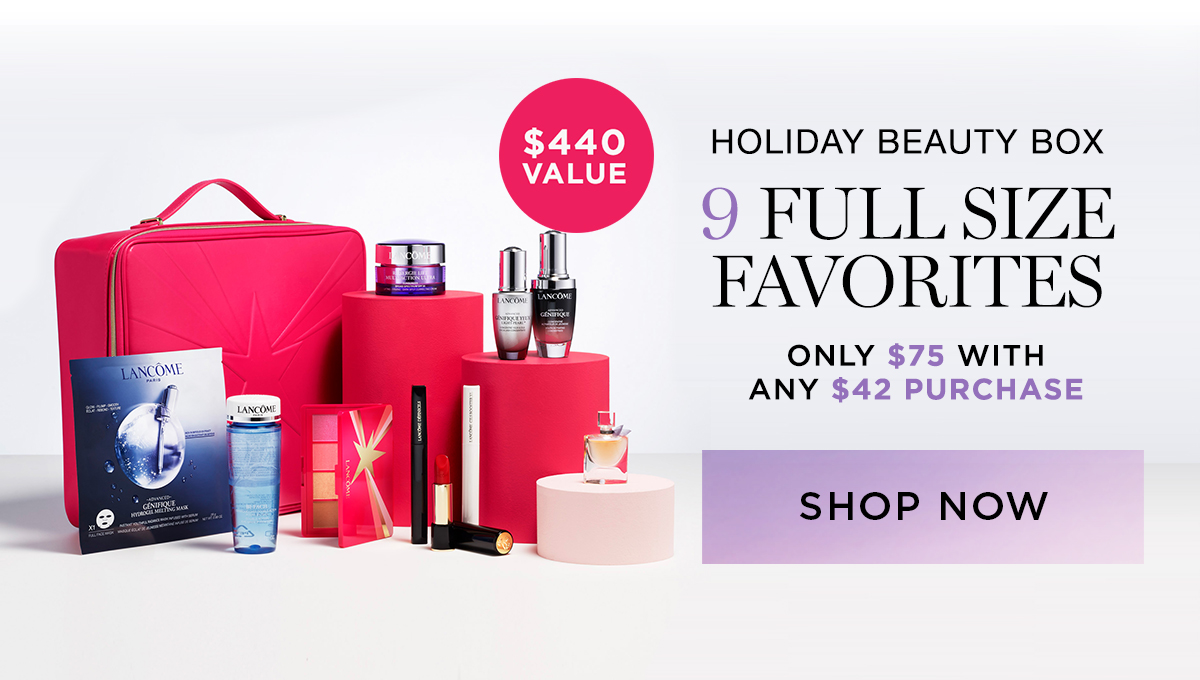 Holiday beauty box