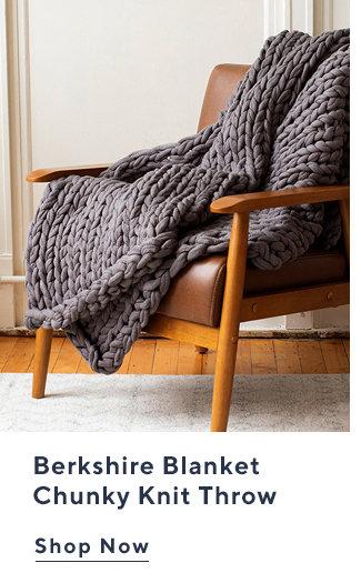 Berkshire Blanket Chunky Knit Throw Shop Now
