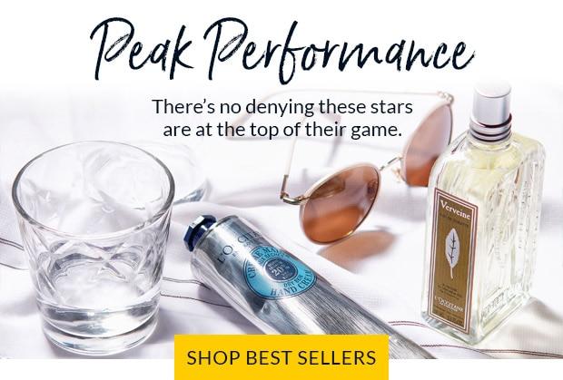 PEAK PERFORMANCE. SHOP BEST SELLERS