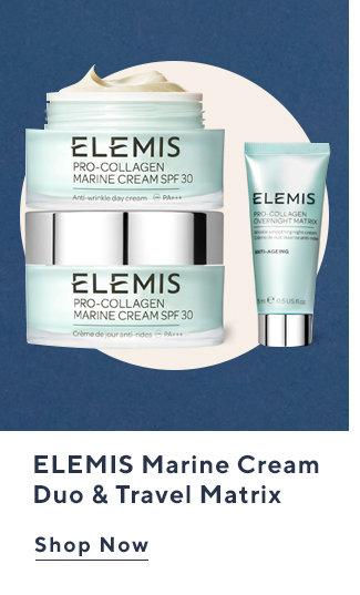 ELEMIS Marine Cream Duo & Travel Matrix Shop Now