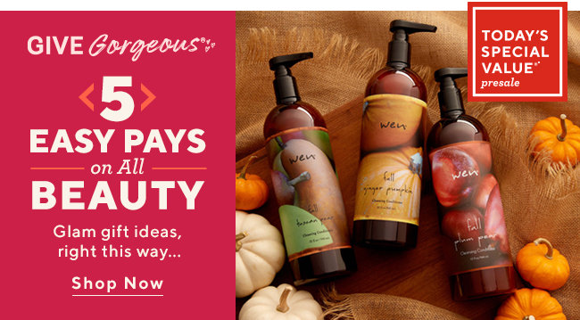 Easy Pays on All Beauty Glam gift ideas, right this way... Shop Now