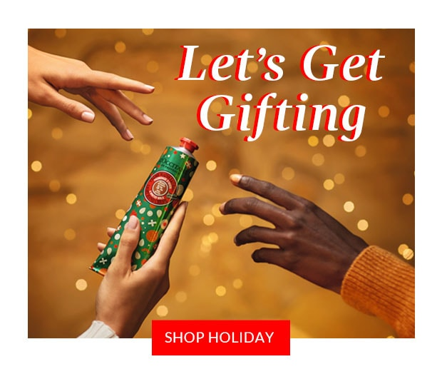LET'S GET GIFTING. SHOP HOLIDAY