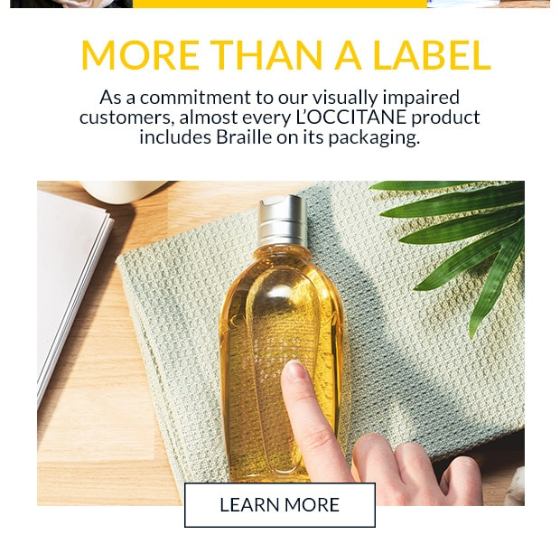 MORE THAN A LABEL. LEARN MORE