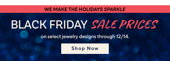 We Make the Holidays Sparkle