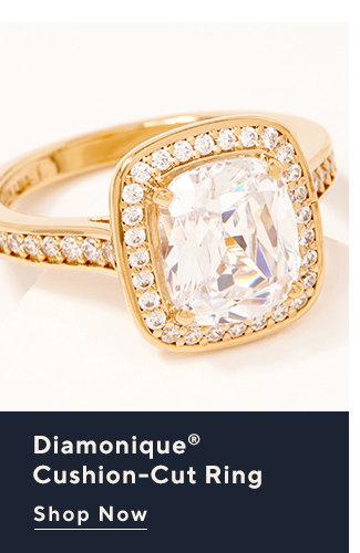 Diamonique® Cushion-Cut Ring Shop Now