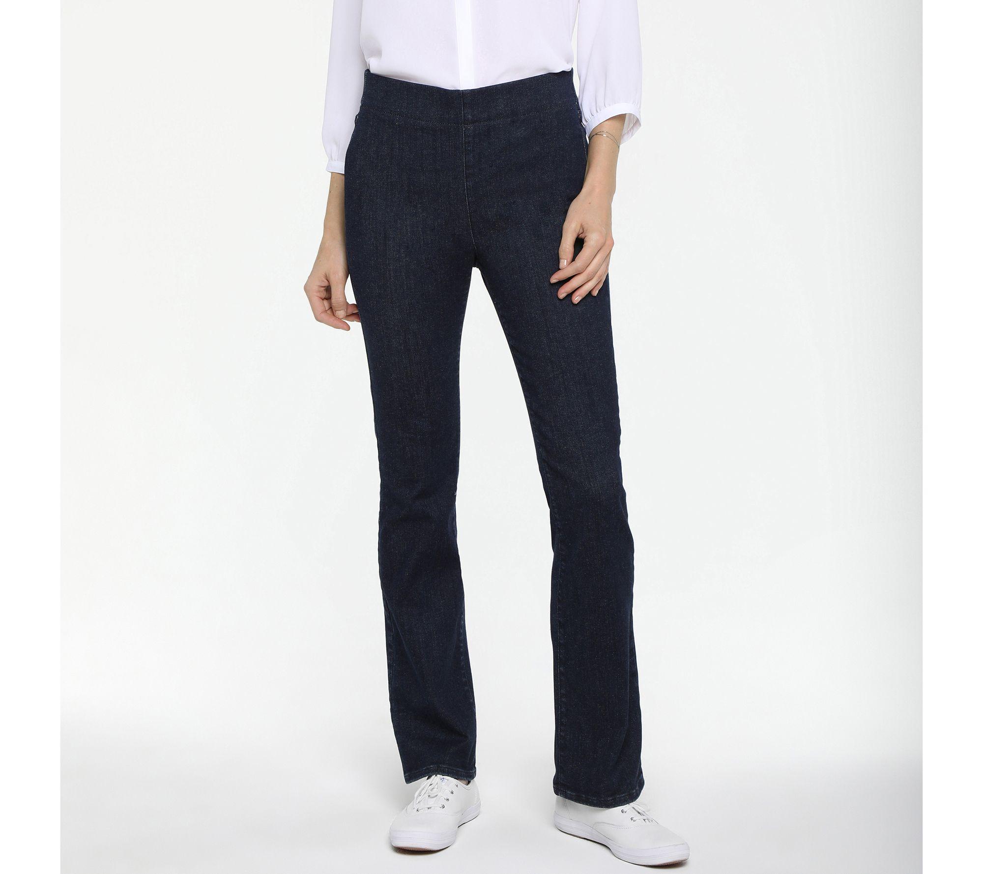 NYDJ_Spanspring Pull-On Slim Bootcut Jeans- Kenzie