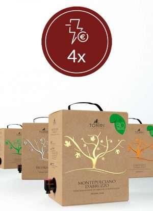 Promo Selezione 4x Bag-in-Box 5 Litri