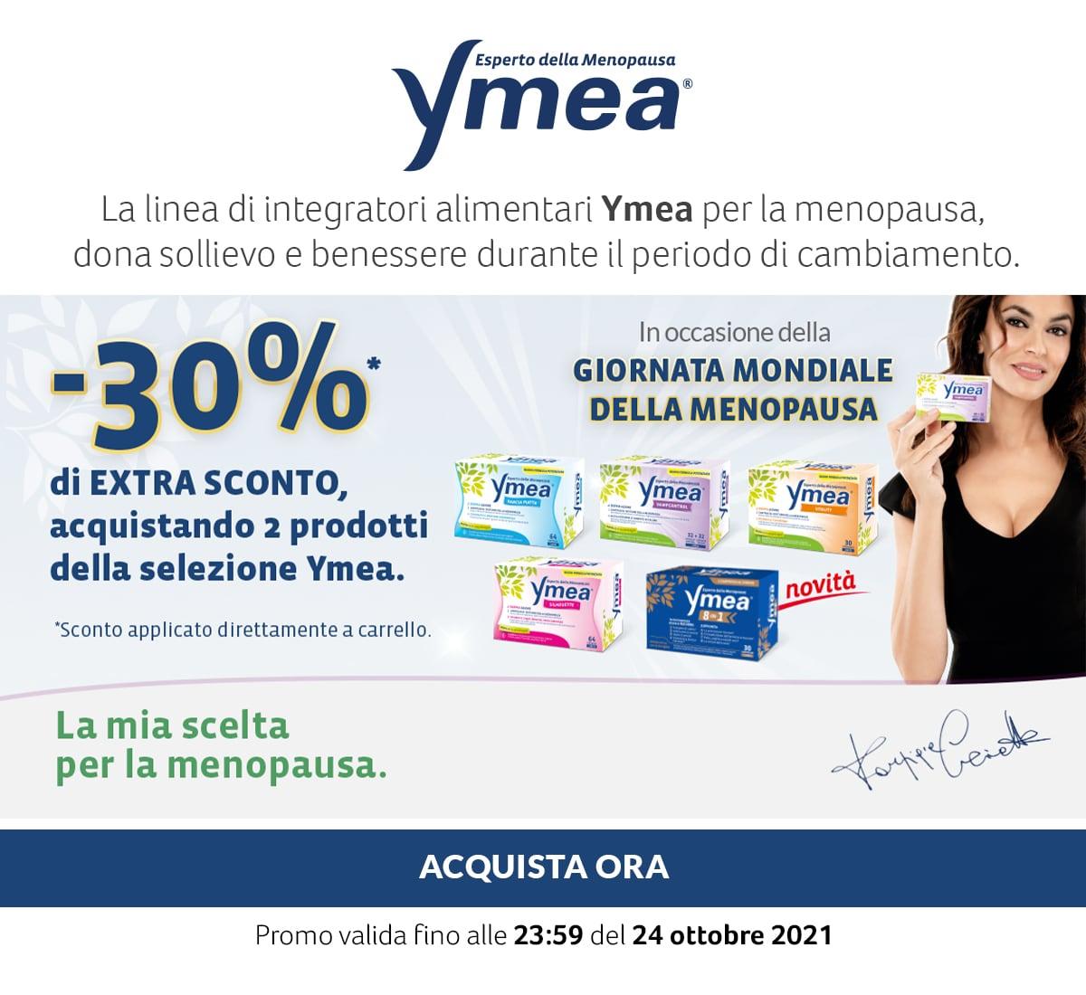 Ymea. -30% di Extra Sconto acquistando 2 prodotti della selezione