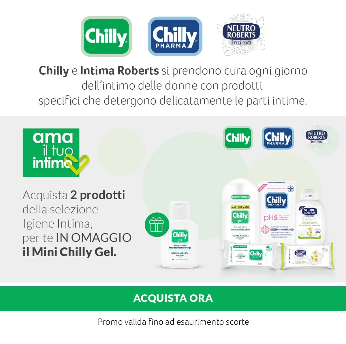 Chilly. In OMAGGIO Mini Chilly Gel.